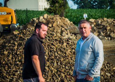 Potin TP - Bdc Production - Film entreprise - Chantier Pacé - Terrassement - CASE France NSO